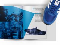Adidas VIP Book Design