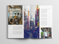 Objective Magazine Page layout