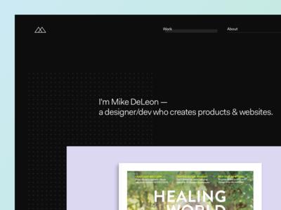 Portfolio — 2017 modular print about minimal simple case study dot fakt grid design website portfolio