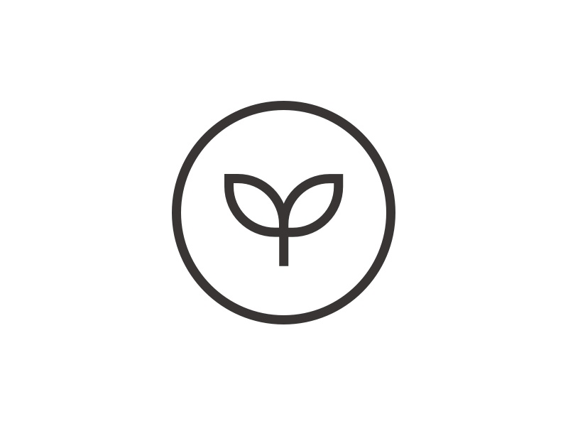 Dribbble veeg logo