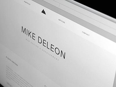 Portfolio — 2012 website portfolio design white gray clean proxima nova adelle