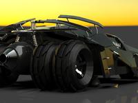 Batmobile - 3D Model