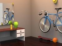 Cycle Model - Autodesk Maya 3D