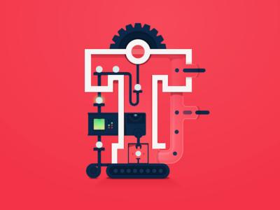 Continuous Integration testing tech computer development coding code tube backend cog machine editorial developer