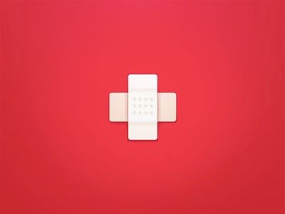#BandAid hospital red cut wound plaster medical bandage heal first aid bandaid cross health