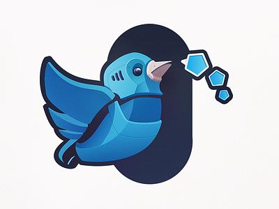 Twitterbot social media robotic wings bluebird tweets ai automated chatbot bots robot bird twitter