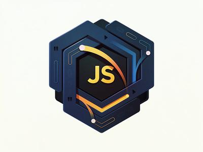 Asynchronous Magic loops hexagon time developers coding badge education magic js javascript code asynchronous