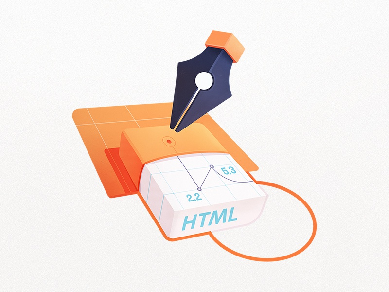 Drawing with HTML5 Canvas by Maggie Appleton on Dribbble
