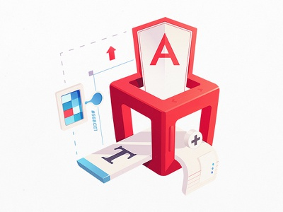 Styling Angular Components color picker app interface framework coding code developers css style ui angular