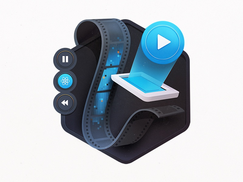 React Native Video by Maggie Appleton on Dribbble