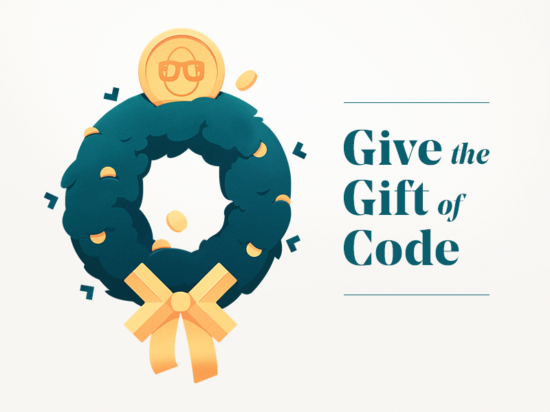 Giftmas wreath text