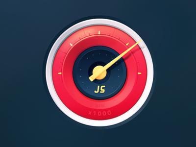 Google Chrome Speedometer fast dashboard car javascript test web chrome google logo testing speed speedometer