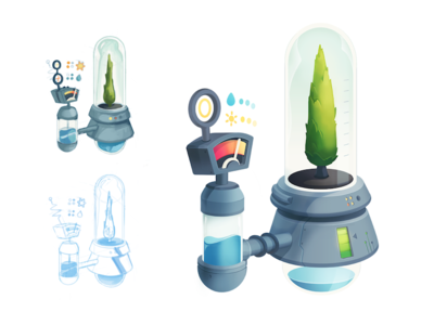 Cypress Incubator Model CY022 height system agriculture measurement water hydroponics plant cypress tree terrarium machinery testing