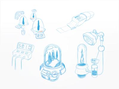 Cypress Incubator Sketches