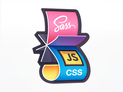 Flipping from SASS to JS-in-CSS web development badge course development code javascript js rotation paper flip css sass