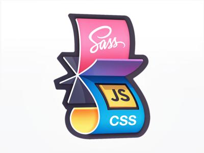 Flipping from SASS to JS-in-CSS web development badge course development code javascript js rotation paper flip css sass
