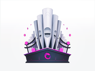 The Grand Pipes of RxJs church play instrument piano notes musical development javascript rxjs tech developers education programming course badge coding code music organ pipes
