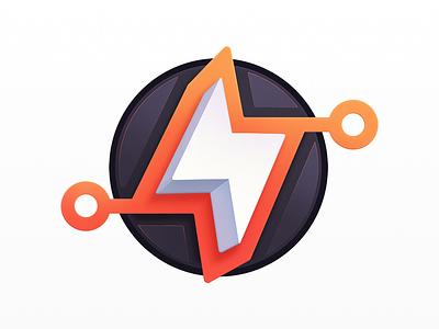 Gittin' Productive tech development education developers lightning bolt lightning bolt github git programming course badge coding code