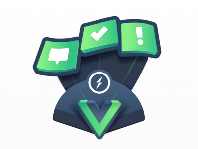 Live Chat Apps in Vue education lightning bolt lightning sending. bolt instant live chat chat websockets socket developers tech vue