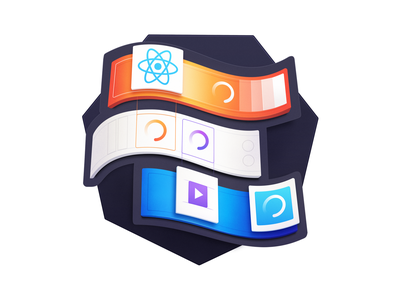 Asynchronous UIs with React Suspense javascript development spinner loading suspense react developers programming course badge coding code
