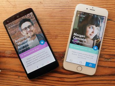 Pingboard Mobile Profiles pingboard ios iphone android nexus native mobile