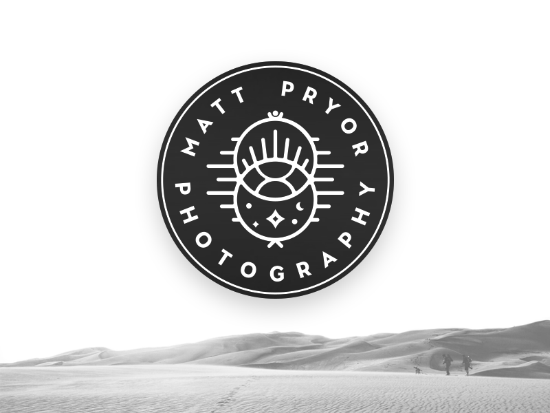 Matt Pryor Personal Brand design branding identity logo photography