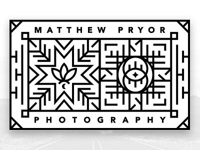 Matt Pryor Personal Brand #2 design branding identity logo photography