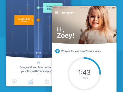 AEvice Concept ios iphone design slush health product mobile concept
