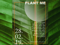 Plant me poster