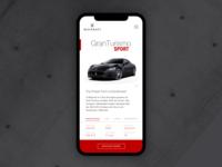 Maserati Mobile UI Concept
