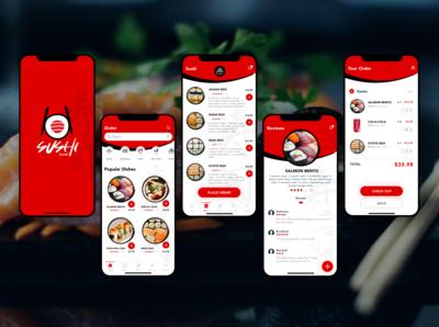 Sushi Order App