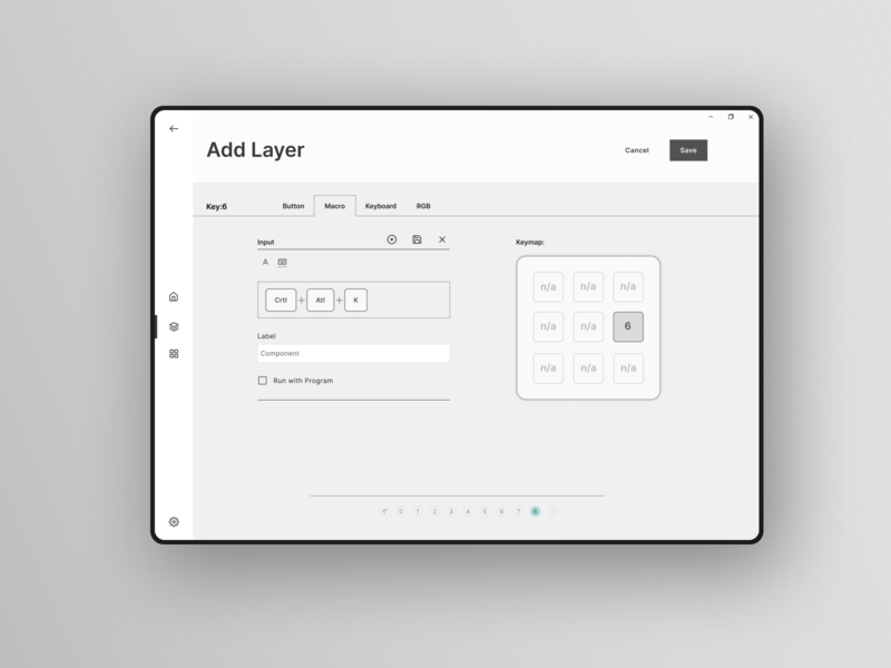 Add Layer -  Macropad Case Study uxdesign ux ui uidesign desktop design desktop