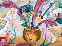 Yahoo Mural Detail 2