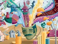 Yahoo Mural Detail 3