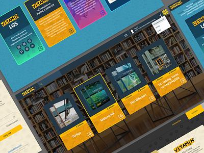 Digital dashboard of school books dashboard book online education