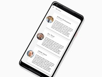 Mobile UI Review Page
