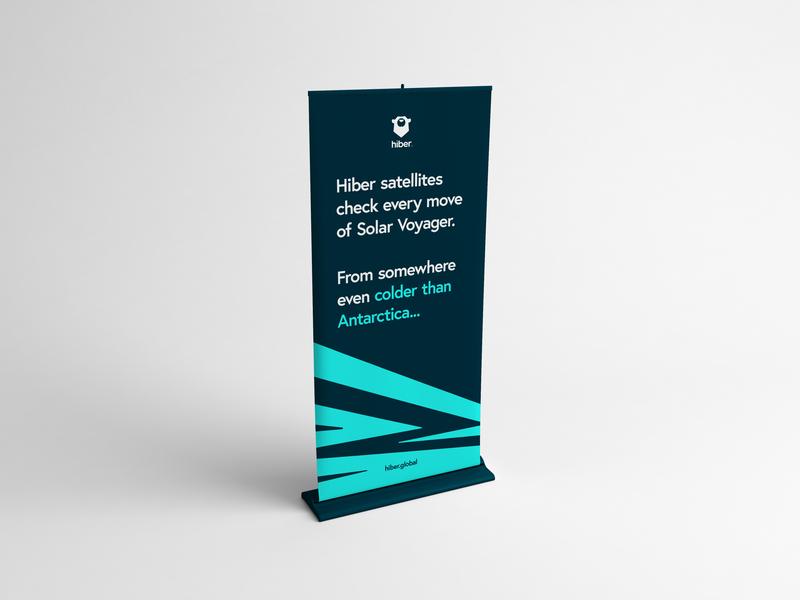 Hiber - Pattern exploration. rollup banner print design texture brandpattern amsterdam hiber branding