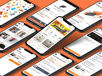 TTS New Version tts thitruongsi product design front-end development ecommerce design ecommerce app ecommerce mobile ui mobile app development mobile app mobile