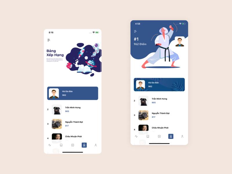 Raking. baron mobile app ui illustrator raking illustration mobile ui mobile