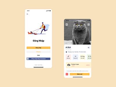 Pet Adopt. app mobile adoption pet adoption pet