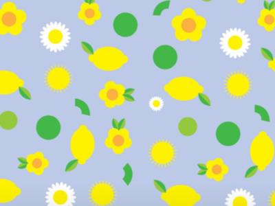 When life gives u flowers & lemons