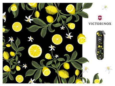 Victorinox Lemons competition illustration lemons victorinox