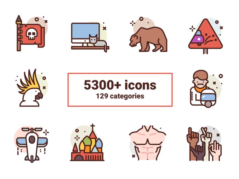 Bubblecons illustration premium icon icons