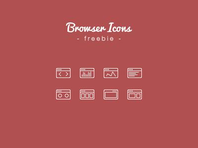 Browser Icons Freebie
