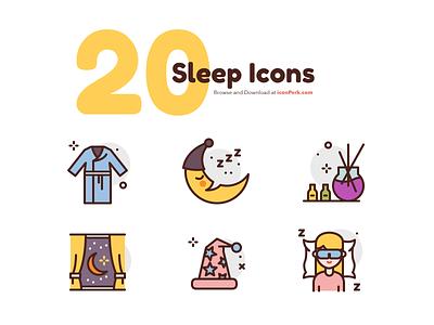 Sleep Icons night sleep illustration premium icon icons
