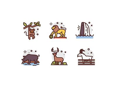 Animal Icons animals premium illustration icons