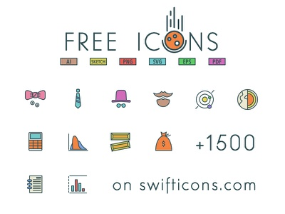 96x3 Free Icons outlined freebie free pack source resource icons psd ai sketch