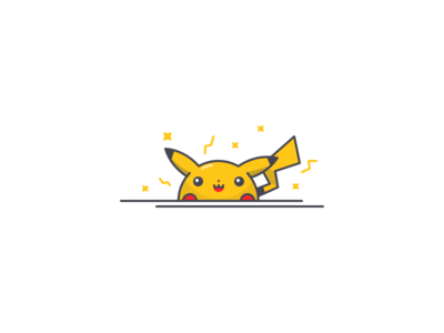 Pika pokemon cute cartoons hero character illustration