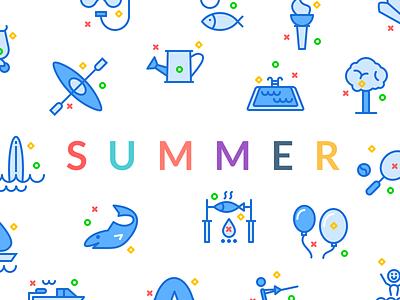 Swifticons Summer summer activities premium icons discount code promo
