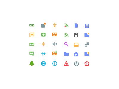 Tiny Icons icon 16px micro small tiny